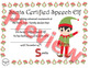 Santa Certified Speech Elf