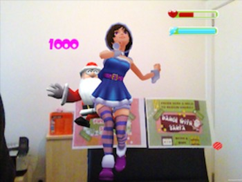 Santa Characters Control images for Dance With Santa AR Free APP-DIY Printables