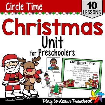 Christmas Circle Time Unit