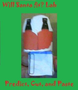 Super Fun Santa Christmas Lab Scientific Method and Perimeter