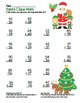 Santa Claus 2 Digit Subtraction & Addition Regrouping Common Core (color &black)