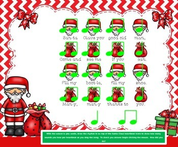 Santa Claus: A Dutch Christmas Tune (Focusing OnStepwise Motion)-(PPT ED.)-
