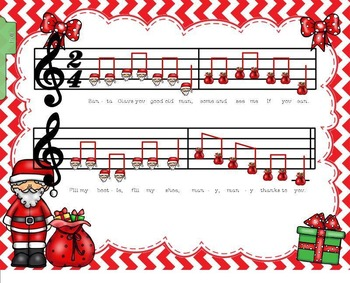 Santa Claus: A Dutch Christmas Tune (Focusing on Step-wise Motion) (SMNTBK ED.)