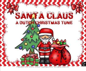 Santa Claus: A Dutch Christmas Tune (Focusing on Step-wise