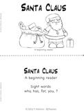 Santa Claus - A beginning reader