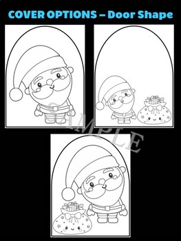Santa Claus + Bag of Toys - Moonju Makers for Activity, Craft, Decor, Christmas