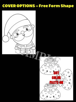 Santa Claus + Bag of Toys - Moonju Makers for Activity, Craft, Decor, Christmas