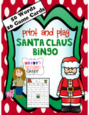 Santa Claus Bingo
