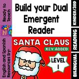 Santa Claus - Build your Dual Emergent Reader