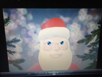Santa Claus Christmas AVATAR video - Be Good Reminder!  Make good choices!