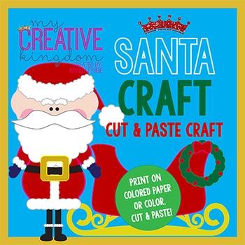 Santa Claus Christmas Craft