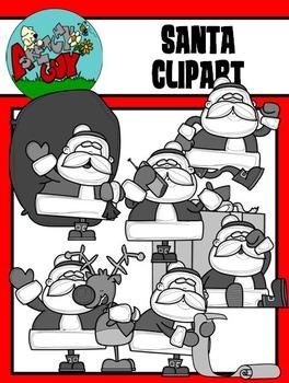 Santa Claus / Christmas / Winter Holiday Clipart - Graphics