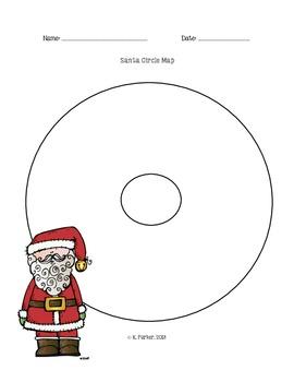 Santa Claus Circle Map
