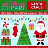 Santa Claus Clip Art (Digital Use Ok!)