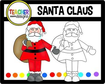 Santa Claus - Clip Art FREEBIE