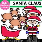 Santa Claus Clipart {Lidia Barbosa Clipart}