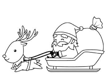 Santa Claus Coloring Pack