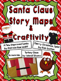 Santa Claus Craftivity with CCSS aligned Story Maps