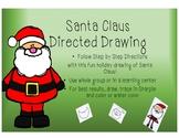 Santa Claus Directed Drawing
