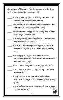 Santa Claus Doesn't Mop Floors (The Bailey School Kids) Novel Study