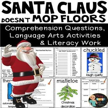 Santa Claus Doesn't Mop Floors Unit