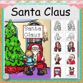 Santa Claus File Folder Match