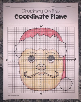 Santa Claus (Graphing on the Coordinate Plane Mystery Picture)