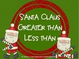 Santa Claus Greater Than Less Than
