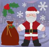 Santa Claus - Holiday Clip Art Set 01