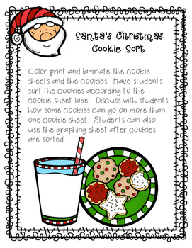 Santa Claus Is Coming To Town Literacy and Math Activites