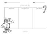 Santa Claus KWL Chart