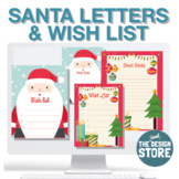 Letters to Santa Claus - Christmas Wish List