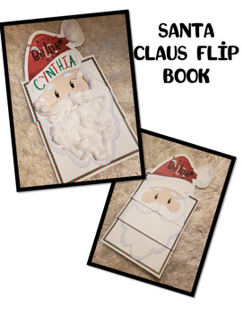 Santa Claus Letter Writing Flip Book