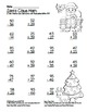 Santa Claus Math 2 Digit Subtraction & Addition Regrouping