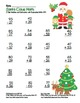 Santa Claus Math 2 Digit Subtraction & Addition Regrouping Common Core (color)