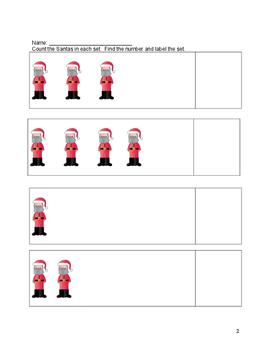 Santa Claus Math