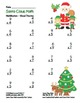 """Santa Claus Math"" Mixed Multiplication - Common Core - Fun! (color & blackline)"