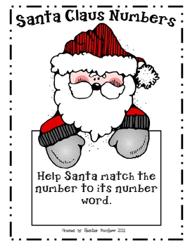 Santa Claus Number Match