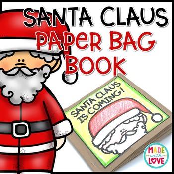 Santa Claus Paper Bag Book