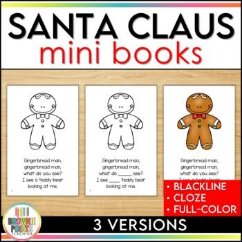 Santa Claus, Santa Claus Mini Book Bundle