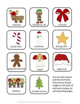 Santa Claus, Santa Claus, What Do You See? interactive Book and Picture Cards