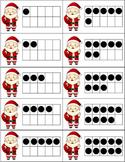 Santa Claus Ten Frame Matching 1-20