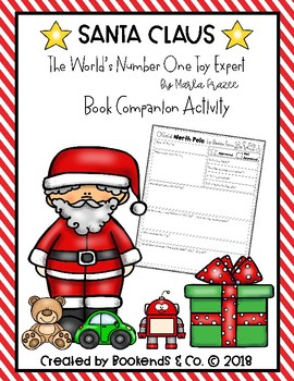 Santa Claus The World's Number One Toy Expert Book Companion Activity