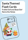 Santa Claus Themed Name the Note Flashcards