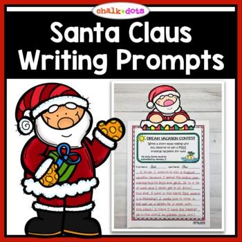 Santa Writing Prompts