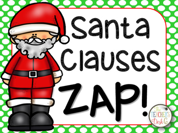 Santa Claus ZIP, ZAP, ZOP Independent and Dependent Clauses