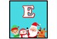 Santa Claus and Friends, Christmas Banner Bulletin Board Letters, Alphabet A-Z