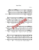 Santa Claus, Sheet music, acc. track, vocal performance track