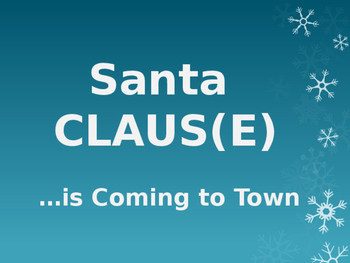 Santa Claus(e): How to identify a clause