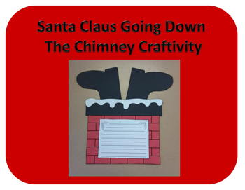 Santa Claus in the Chimney Craftivity (Christmas)